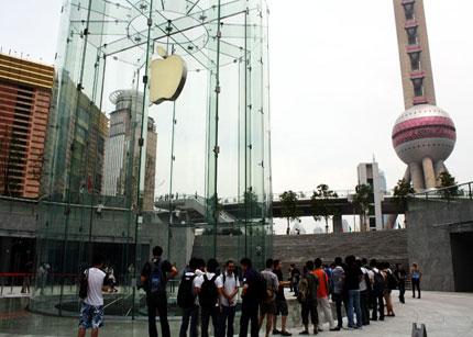 Impresionante diseño arquitectónico de la nueva Apple Store de Shangai - applestore_SH01