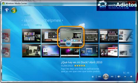Ver videos de YouTube en Windows Media Center - canales-youtube-windows-media-center