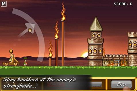 Juegos iPod/iPhone, Castle Smasher - castle-smasher