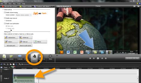 controlar sonido en grabacion Graba tu escritorio con Camtasia Studio