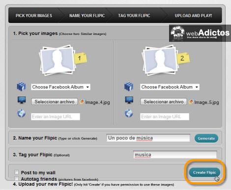 crear imagenes animadas Subir imagenes animadas a Facebook