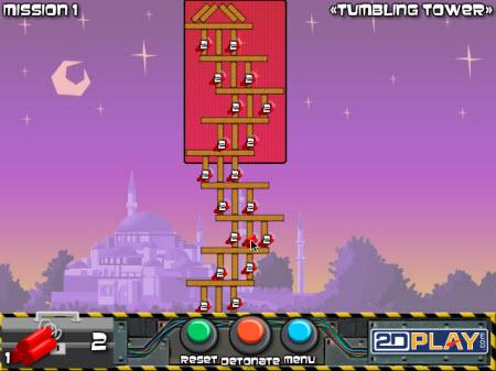 Juegos online, Building blaster - detonar-edificios-bulding-blaster-2