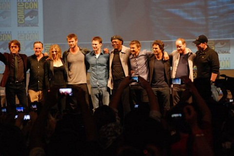 elenco de la pelicula the avengers Elenco de la película The Avengers