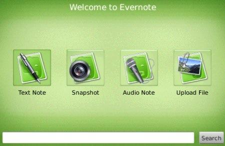 Evernote para BlackBerry ahora incorpora un visor de notas - evernote-for-blackberry