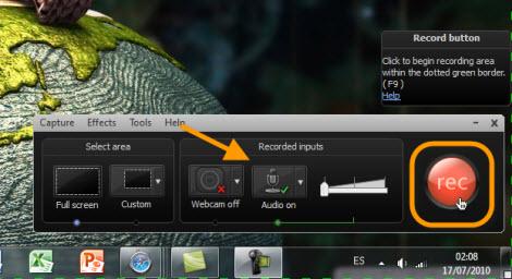 Graba tu escritorio con Camtasia Studio - grabar-escritorio