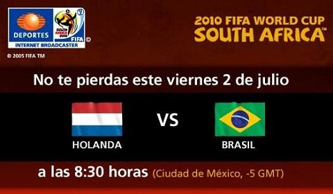 holanda brasil en vivo mundial Holanda vs Brasil en vivo