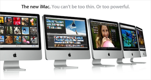 Apple actualiza las iMac - imac