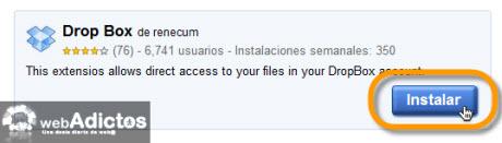 Accesa a tus archivos de Dropbox desde Chrome - instalar-extension-dropbox2