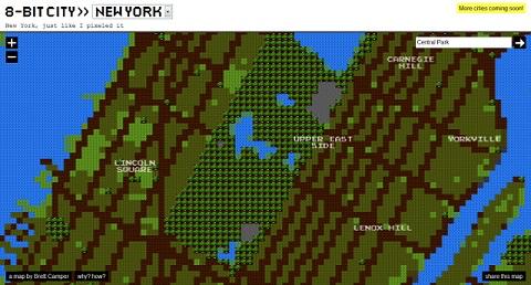 Mapas del mundo en 8-bits - mapas-del-mundo-en-8bits
