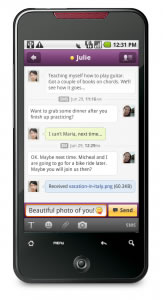 Correo Yahoo y messenger para Android - messenger-yahoo-android