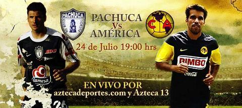 pachuca america en vivo Pachuca vs America en vivo, Apertura 2010