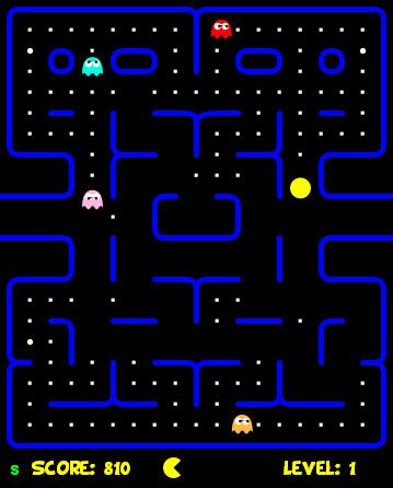 pacman html5 Jugar Pacman en HTML5