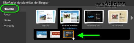 plantillas de blogger2 Diseña un tema para tu blog de Blogger
