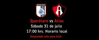 queretaro atlas en vivo apertura 2010 Queretaro vs Atlas en vivo, Apertura 2010