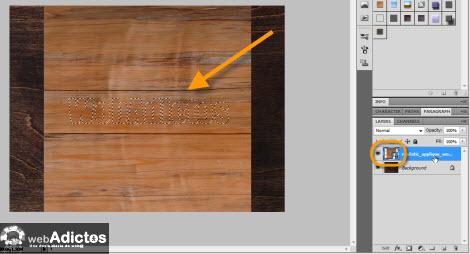 seleccionar figura photoshop Crear grabado de madera en Photoshop