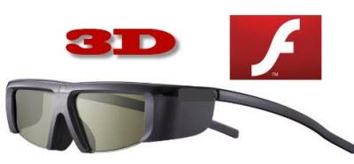 soporte 3d flash Flash soportará 3D