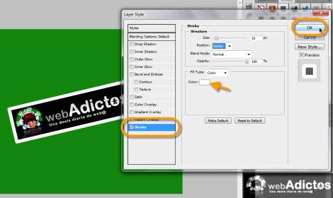 Crear una cinta adhesiva en Photoshop - stroke-en-photoshop