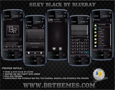 Temas para nokia, 30 temas - temas-symbian-silky-black
