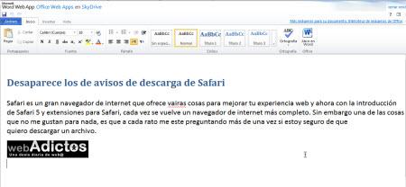 word en linea1 Crear documentos de Office 2010 en línea