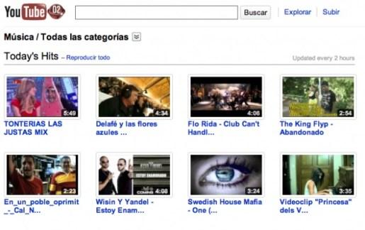 Videos de musica en Youtube - youtube-musical