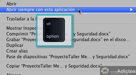 Cambiar la aplicacion que abre un archivo por omisión en Mac - Abrir-con-otra-aplicacion-por-omision_4