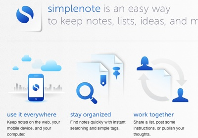 Descarga Simplenote iPad iPhone 5 Aplicaciones gratis de Mac para el regreso a clases