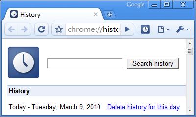 Accede a tu historial rapidamente en Google Chrome - History-Button-historial-chrome_1