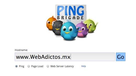 Analiza el rendimiento de tu sitio web con Ping Brigade - Ping-Brigade