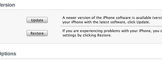 Como hacer downgrade al iPhone 3G de iOS 4 a 3.1.3 - Restaurar-iPhone