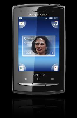 Nuevos Sony ericsson Xperia con Android - Xperia-X10-mini-pro
