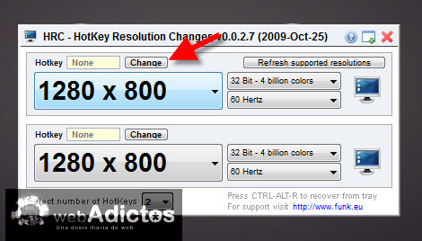 Cambiar la resolución de la pantalla con un atajo - agregar-atajo-cambiar-resolucion
