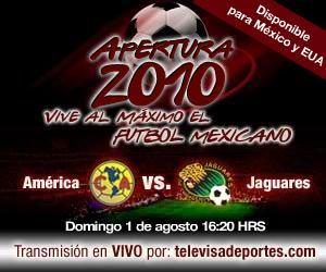 America vs Chiapas en vivo, Apertura 2010 - america-jaguares-en-vivo-apertura-2010