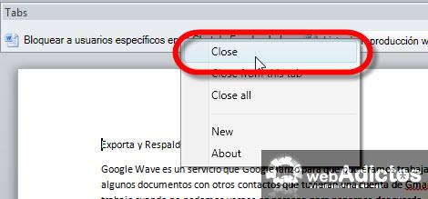 cerrar tabs office word Agregar Tabs a tus documentos de Word