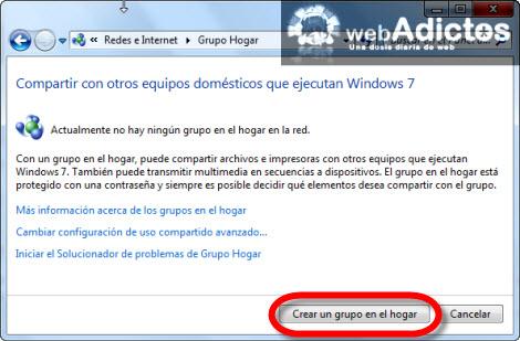 crear grupo en el hogar Crear un Grupo en el Hogar en Windows 7