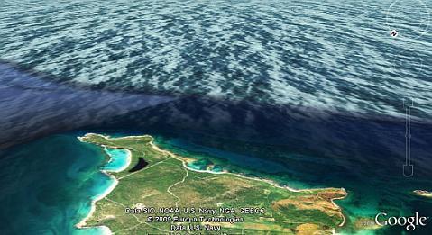 Google Earth 1.1 de Android se sumerge a los océanos - google-earth-android