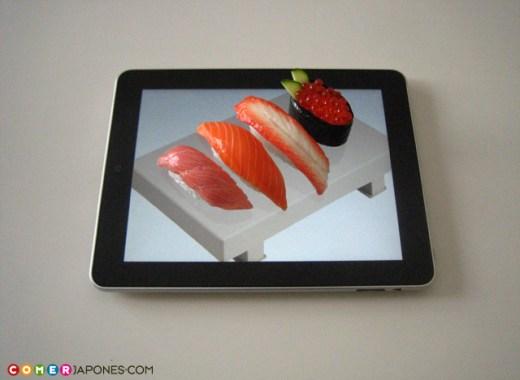 iPad como menú de restaurantes