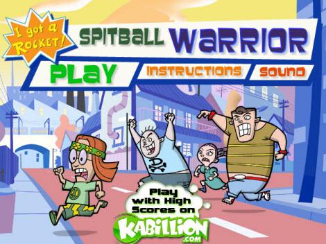 jugar spitball warrior Juegos Gratis, Spitball Warriors