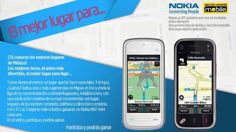 El mejor lugar para… concurso de Nokia - mejores-lugares-mexico