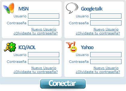 Abrir messenger con Instan-T Messenger - messenger-web