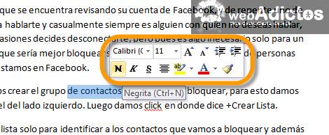 Deshabilitar la minibarra de herramientas en Office 2010 - minibarra-herramientas-office-2010