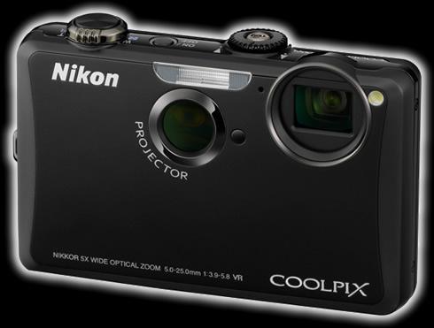 Nikon Coolpix S1100pj con Proyector integrado - nikon-S1100pj