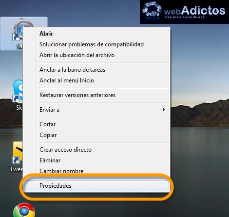 Crear atajos para aplicaciones en Windows - propiedades-aplicaciones