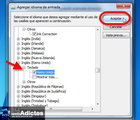 Cambiar el idioma del teclado en Windows - seleccionar-idioma-teclado