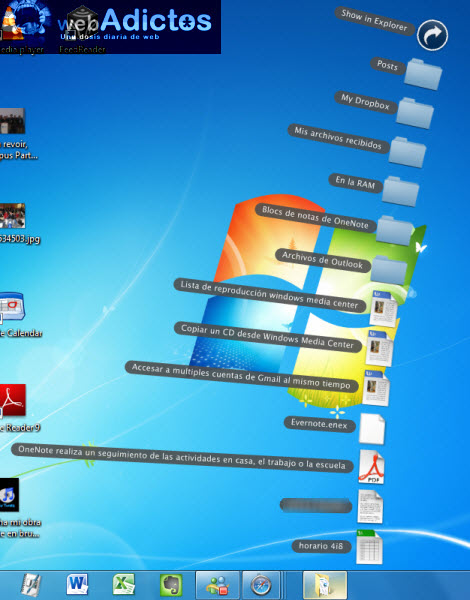 Crear stacks en Windows sin necesidad de un dock - stack-barra-de-tareas1