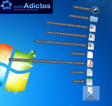 Crear stacks en Windows sin necesidad de un dock - starck-iconos1