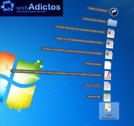 Crear stacks en Windows sin necesidad de un dock - starck-iconos2