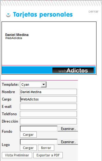 tarjetas presentacion Hacer tarjetas de presentacion en ImprimoFacil.com