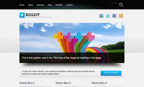 Temas para wordpress 3.0 - templates-wordpress-Boldy