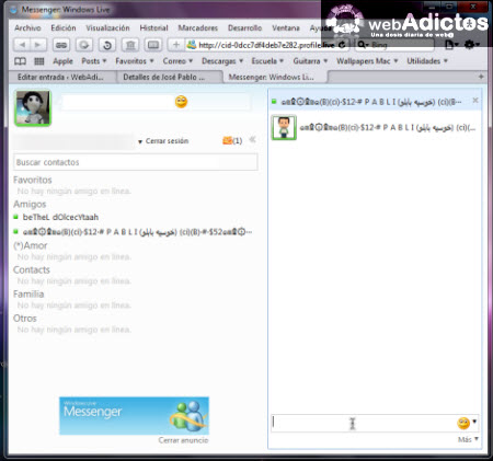 ventana messenger hotmail Aprende a abrir messenger en Hotmail