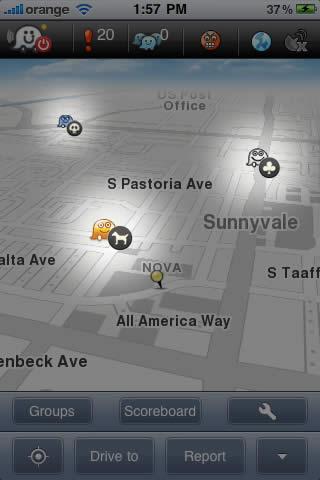 Waze el GPS social lanza versión 2.0 - waze-gps-gratis